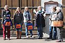 Info-Stand in der Hauptstraße, Samstag, 8. März